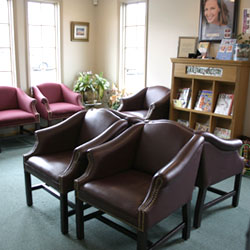 Cnal Family Dentistry Waiting Room